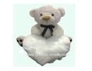 דובי לבן עם כרית