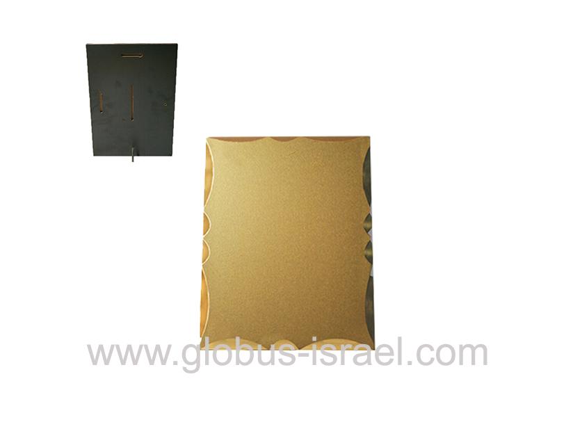 מגן מעוגל זהב A5