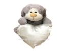 דובי/כלב עם כרית לב