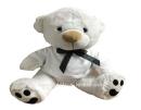 """דובי לבן 40 ס""""מ"""