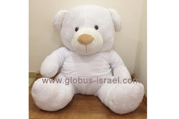 """דובי לבן ענק 80 ס""""מ"""