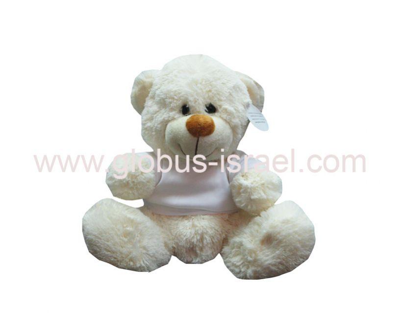"""דובי לבן 30 ס""""מ"""